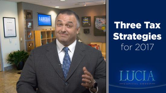Three Tax Strategies for 2017