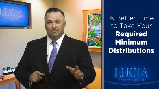 A Better Time to Take Your Required Minimum Distributions