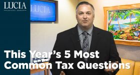 This Year's 5 Most Common Tax Questions