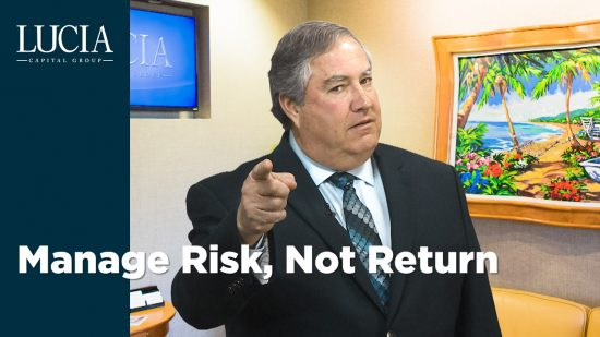 Manage Risk, Not Return